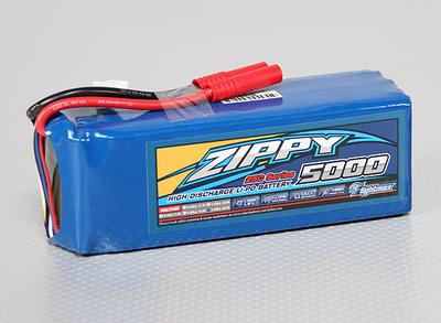 ZIPPY Flightmax 5000mAh 6S1P 25C