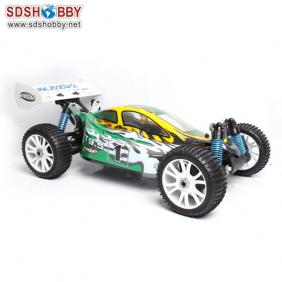 HSP 1/8th Scale Brushless Electric Off-Road Buggy RTR (Model NO: 94885-E9) with 2.4G Radio, 9.6V 3600mAh Battery