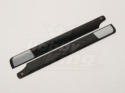 288mm TIG Carbon Fiber Main Blades