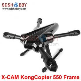 X-CAM KongCopter 550 Frame X-BUG Alien Quadcopter/ Reptile Quadcopter AQ550 with 25mm Arm