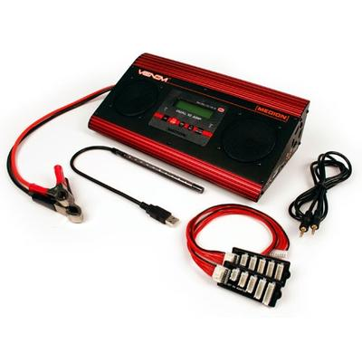 Venom Medion Dual 10 Amp Charger with Audio Speakers VNR0668