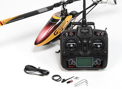 Walkera G400 GPS Series 6CH Flybarless RC Helicopter w/Devo 7 (Mode 1) (Ready to Fly)