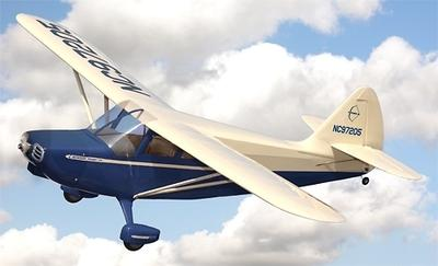Pilot-1 Stinson 108 Blue/Cream 1/8 Scale ARF