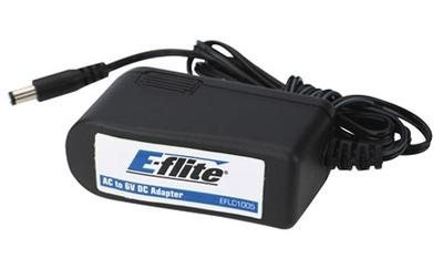 E-Flite 6V 1.5 Amp AC/DC Power Supply