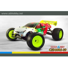 HSP 1/8 Brushless Electric Off-Road Truggy RTR (Model No: 94085-E9) with 4WD System, 2.4G Radio, 8.4V 3600mAh Battery