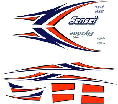 Flyzone Decal Set Sensei RTF FLZA6177 (was HCAA6391)