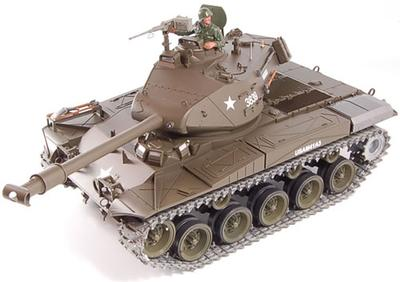 1/16th Bulldog Smoking RC Tank - Pro Version