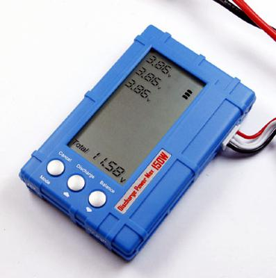 3 IN 1 Battery Meter/Balancer/Discharger LCD Display 150W Discharge