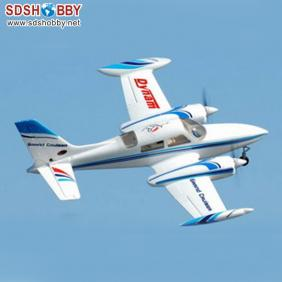 Cessna 310 EPO/ Foam Electric Airplane RTF with Retractable Landing Gear, 2.4G Right Hand Throttle