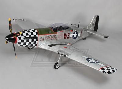 P-51D Big Beautiful Doll 1600mm EPO w/Electric Retracts, Flaps, Lights (PNF)