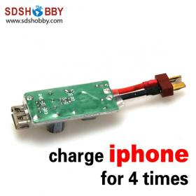 1PC* 2S-6S Li-Po Switch Charger 3S 2200mAh for RC Airplane/ Charging iPhone at least 4 times