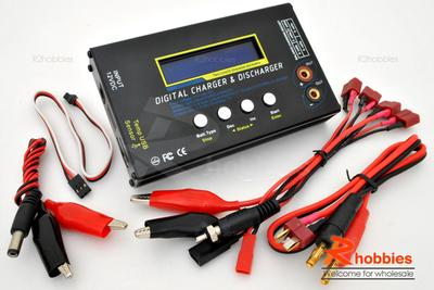 2s - 6s Lipo Lithium Polymer Battery Balance Digital Charger / Discharger