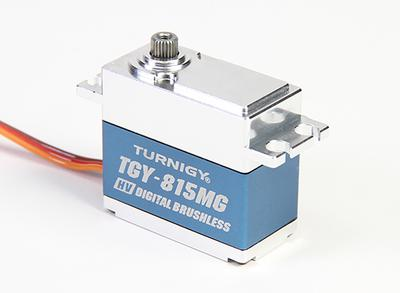 Turnigy TGY-BLS815MG HV Digital Brushless Servo w/Alloy Case 20kg/.07sec/68g