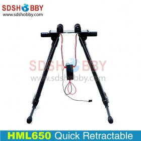 HML650 Retractable Landing Gear for HMF S550 Tarot 650/680pro Frame/Quadcopter/ Hexacopter/Multicopter Photography
