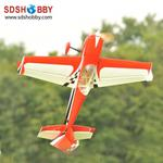 WM 61in Slick360 70E Balsa Wood RC Electric Airplane ARF Standard Version-Red/ Black/White