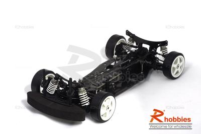 1/10 RC EP XR 4WD On-Road Belt Drive Racing Car Carbon Fiber Chassis