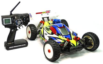 GS Racing Storm Evo 25 1/8th RC Nitro Buggy