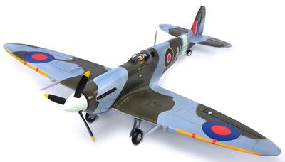 Spitfire 4Ch RC Plane with Retractable Landing Gear 2.4GHz RTF
