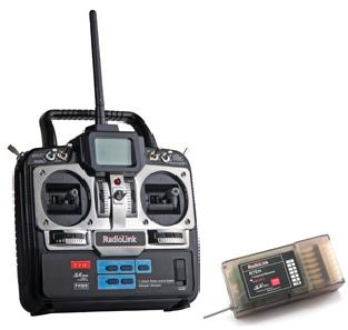 Radiolink 2.4GHz 7-CH RC System for Helicopter & Airplane Mode 2 w/R7EH receiver