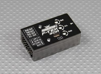 F-TEK 30A Fixed Wing Flight Stabilization Controller (w/Self-Leveling)