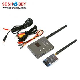 2013 NEW FPV 5.8G 600mW A/V Transmitting/Receiving System Combo TS832 + RC832 32 Channel Wireless Audio/Video System