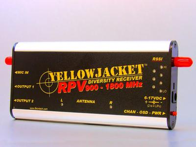 YellowJacket RPV 900MHz-1800MHz Diversity Receiver