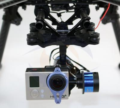 TAROT 2 Axis Camera Gimbal for GoPro HERO3, 3+ w/Free Cable