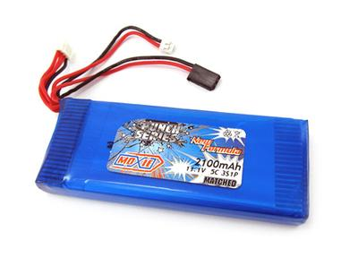 Moxie Punch Series 5C 11.1V 3S 2100mAh Lipo (JST) For TX