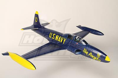 Mini T 33 Blue Angels Edf Fighter Jet Epo Plug N Fly