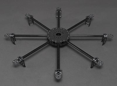 Turnigy Talon Octocopter Plate Set.