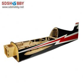 Fuselage For Sbach 342 30cc Color A Red/Black AG310-A