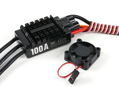 Hobbywing Platinum 100A V3 Brushless ESC w/10A BEC ...