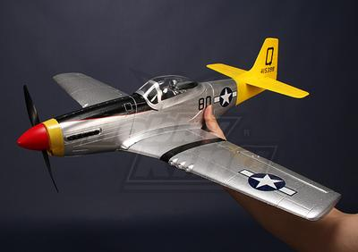 Hobby King Mini P 51d Mustang Parkflyer Plug N Fly