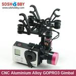 CNC Aluminium Alloy Brushless GOPRO Camera Gimbal for FPV Aerial Photography/ GOPRO3