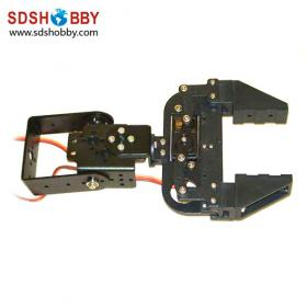 Super Gripper for Aurduino Robot/2-free degree Gripper of Mechanical Arm (with 2 MG995 servos)