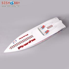 Piranha 600 Electric Brushless RC Racing Boat Fiberglass with 2858 KV2881 Motor with Water Cooling+50A ESC with BEC
