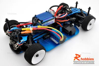 1/18 RC EP XR 4WD On-Road Belt Drive Racing Car Aluminum Chassis