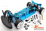 1/10 RC EP XR 4WD On-Road Belt Drive Racing Car Aluminum Chassis