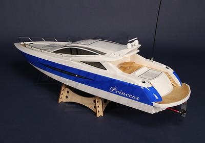 Princess Gas Powered V-Hull R/C Boat (1000mm)