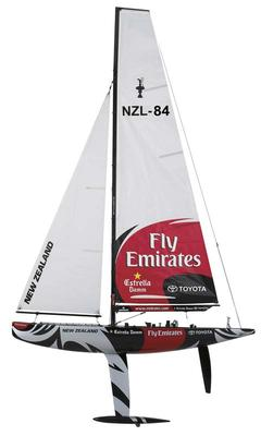Thunder Tiger 1M ETNZ Scale Racing Yacht RC Boat Kit TTR5555