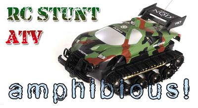RC Amphibious All Terrain Vehicle - Tank