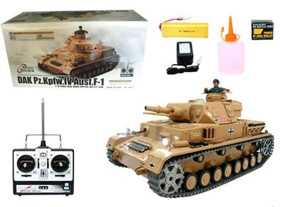 1/16 DAK Pz.Kpfw.IV RC Tank - Pro Version