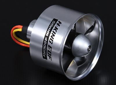 Hobbyking 50mm Alloy EDF 4800kv (3s Version)