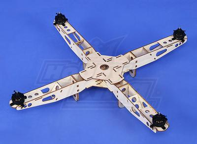 Hobbyking Super Mini Quadcopter Frame with Motors (445mm)