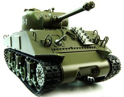 1/30th Sherman M4A3 Radio Controlled Tank