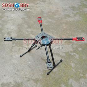 Hummingbird HM650 Foldable Carbon Fiber Quadcopter/ Four-axle Rack/ Frame (superior to Tarot 650)