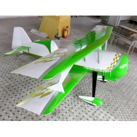 New Pitts S12 100cc RC Model Gasoline Airplane ARF/Petrol Airplane Green/Gold Color Scheme Version