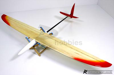 4 Channel RC EP 1.5M Soaring Thermo DLG Glider
