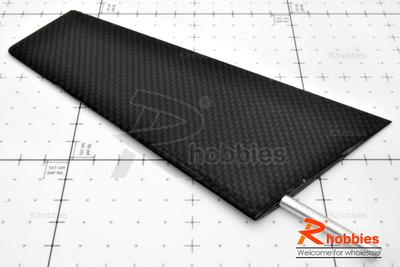 RC Yacht Sailing Boat Carbon Fiber Rudder (Trapezoid)