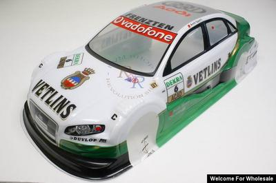 1/10 Audi S4 Analog Painted RC Car Body (Green)